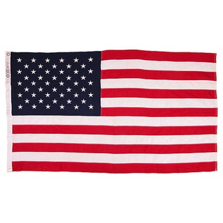 Vintage 50 Star US Flag
