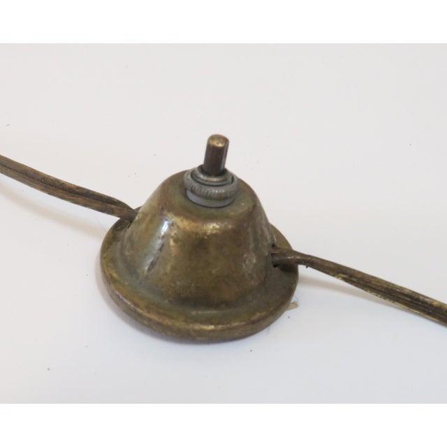 Image of Modern Brass Floor Reading Lamp