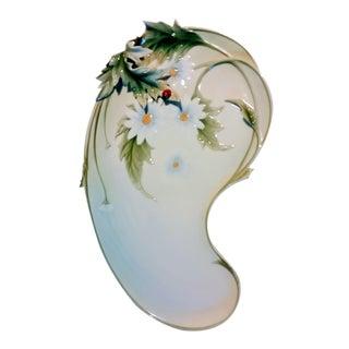Franz Fine Porcelain Daisy Tray