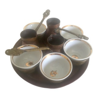 Turkish Bohemian Handmade Coffee Service