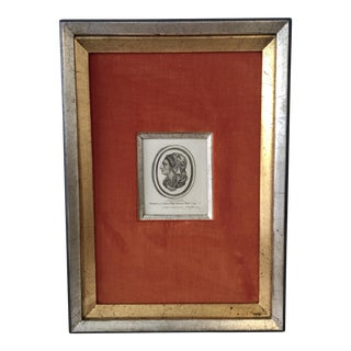 Antique Framed Engraving