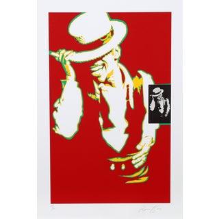Bernard Rancillac Sammy Davis Jr. Lithograph
