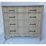 Image of Gray Vintage French Bachelor's Chest