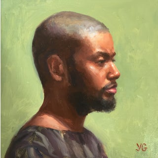 'Portrait of African American Man' Painting