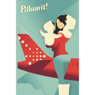 Contemporary Mads Berg Poster, Pilluarit!