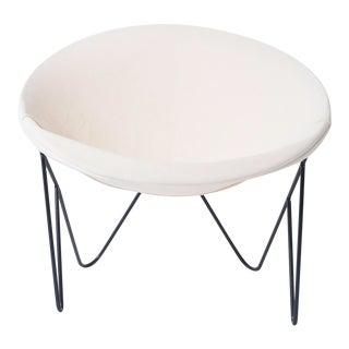 Single California Modernist Hoop Chair on Hairpin Legs