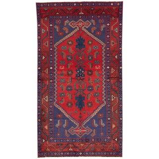 "Apadana Vintage Persian Hamadan Rug -- 3'7"" x 6'9"""