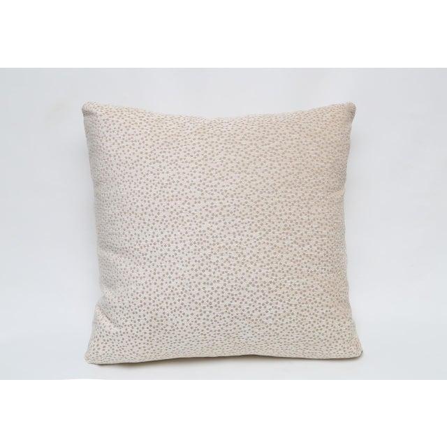 Kravet Chenille Polka Dot Pillow - Image 2 of 3