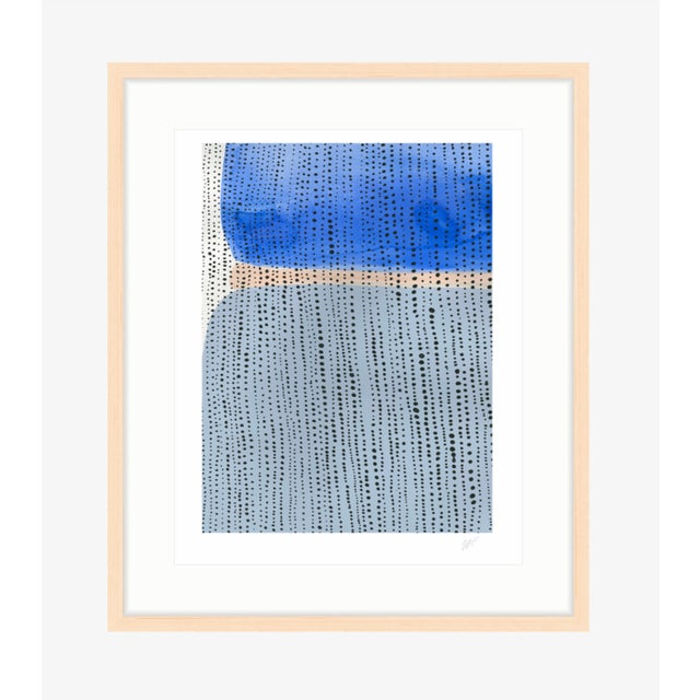 "Image of Shorelines V Watercolor Print - Perspective B - 8"" x 10"""