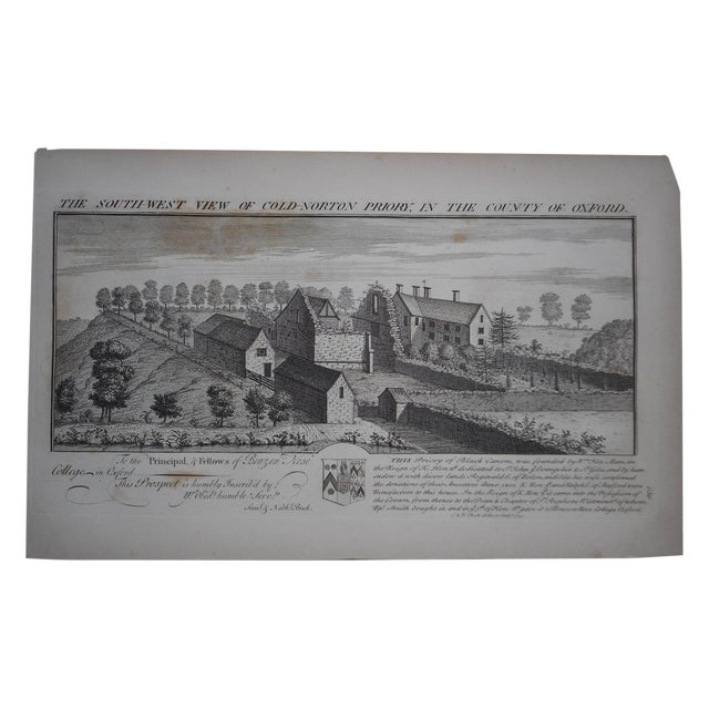 Antique Folio Size Architectural Engraving - Image 1 of 4
