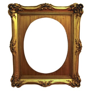 1940s Heavily Carved French Frame