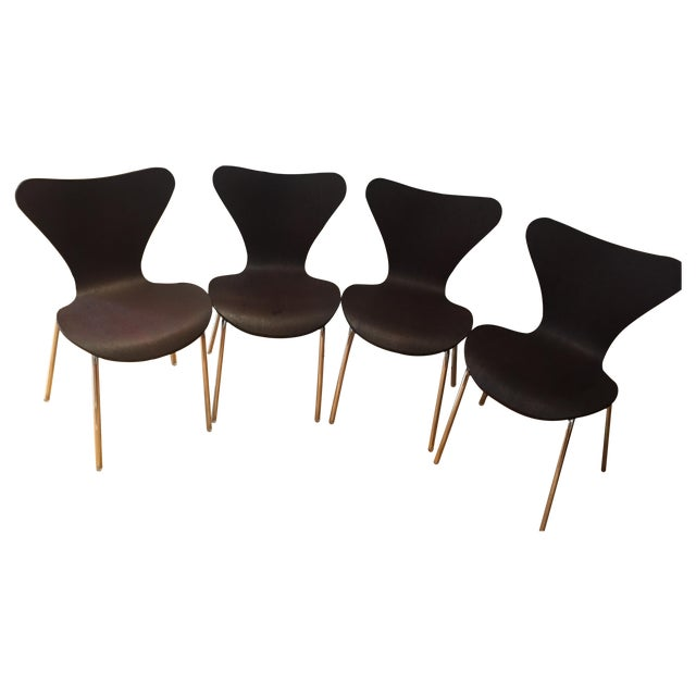 Restoration Hardware Modern: Restoration Hardware Modern Chairs - Set Of 4