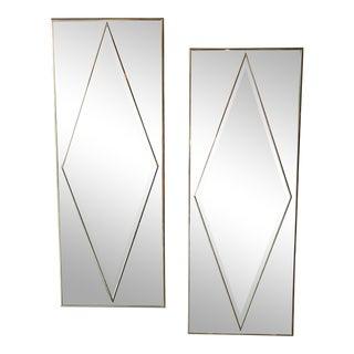 Pair of Hollywood Regency Vintage mirrors