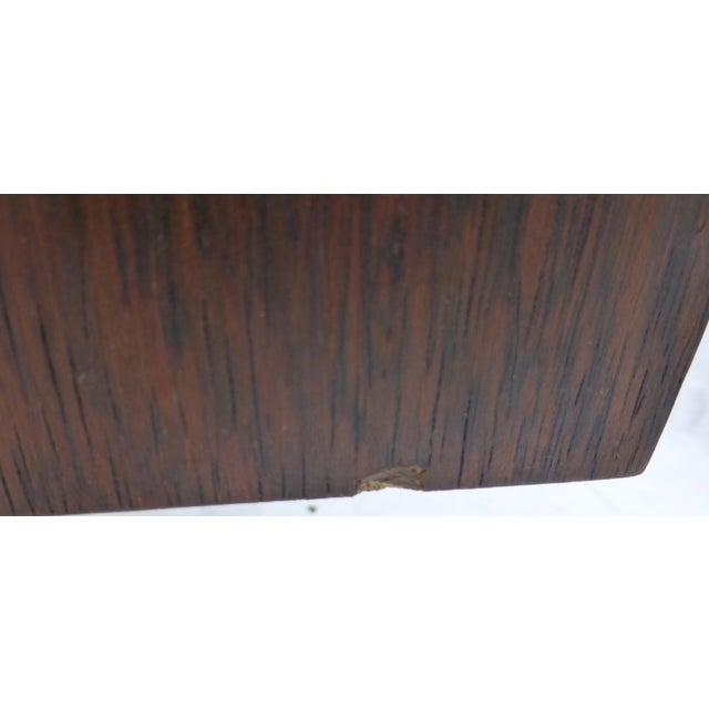 Midcentury Danish Modern Rosewood Desk - Image 10 of 11