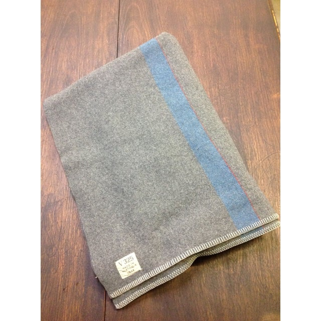 Image of 1944 Grey Wool Blanket