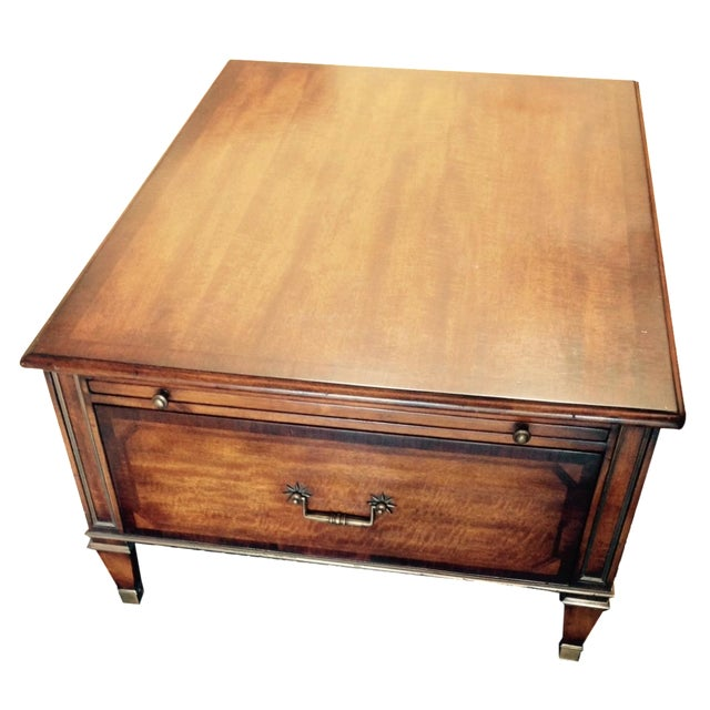 Maitland Smith 2 Drawer Coffee Table Chairish