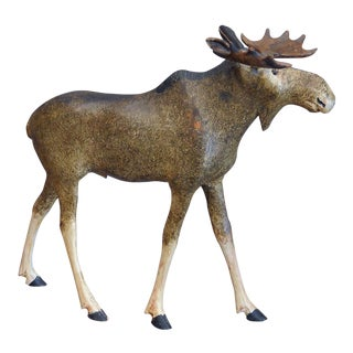 Danish Carved Moose (#22-48)