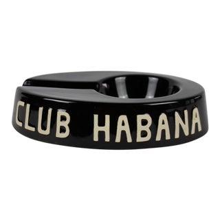 Black Club Habana Ashtray