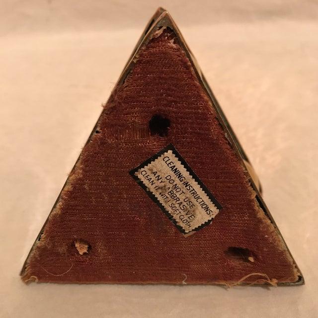 Hammered Copper & Brass Pyramidal Obelisk - Image 5 of 5