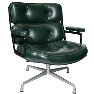 Eames Executive Chair in Forest Green