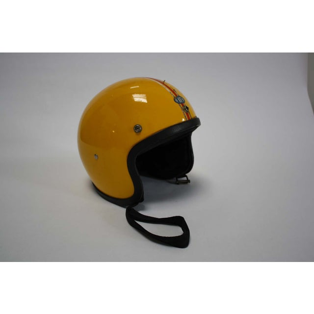 1970s Japanese Motorcycle Helmet - Image 2 of 8