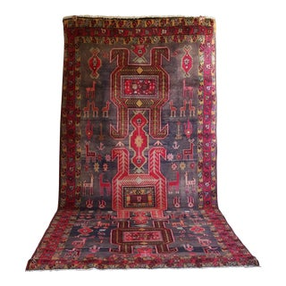 Semi Antique Ardabil Persian Runner - 4′10″ × 11′1″