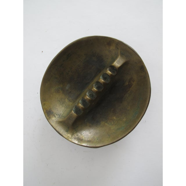 Image of Midcentury Bronze Ashtray