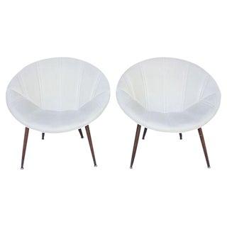 Douglas Eaton MCM Saucer Chairs - A Pair