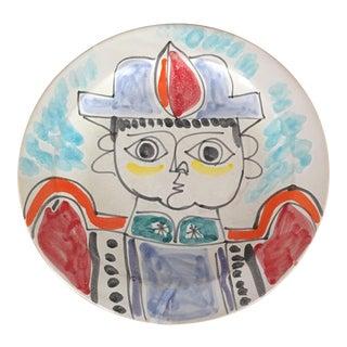 "DeSimone Mi- Century 10 "" Pottery Charger"