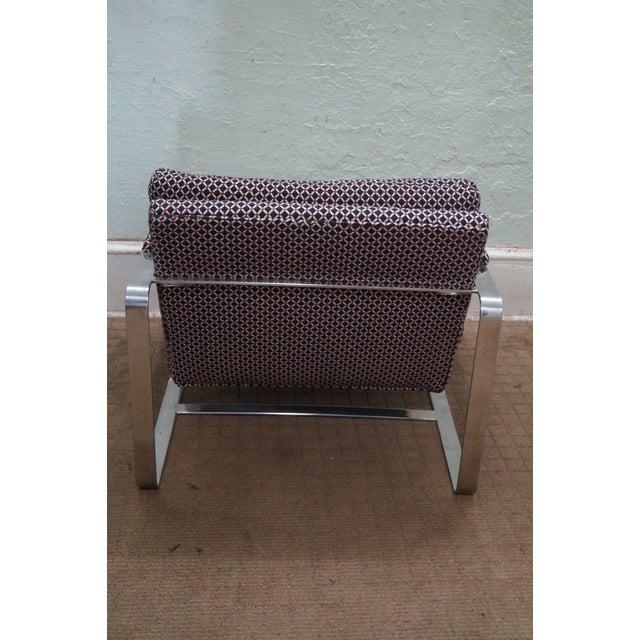 Bernhardt Flair Lounge Chair Milo Baughman Era - Image 4 of 10