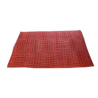 Antique Turkish Striped Flatweave 5′7″ × 8′6″