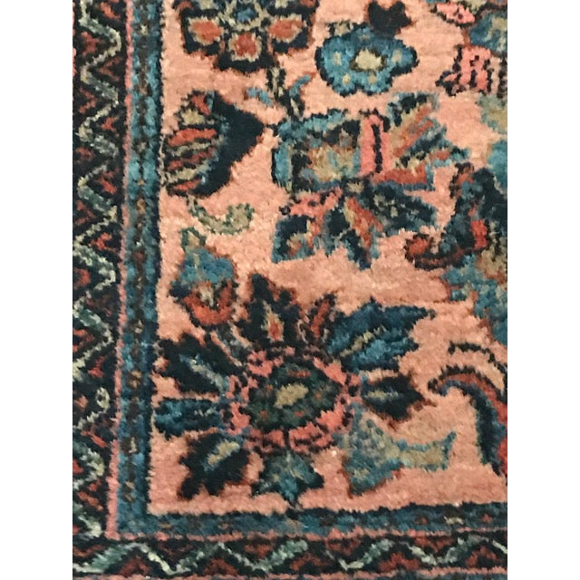 Antique Persian Lilihan Rug - 2′2″ × 3′ - Image 3 of 8