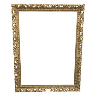 Antique 19th Century Gesso Frame