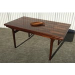 Image of Vintage Danish Modern Rosewood Dining Table