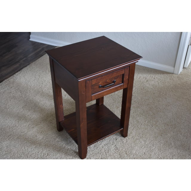Image of Pottery Barn Hampton Bedside Table