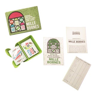 Mid-Century 'Mille Bornes' French Traveling Game