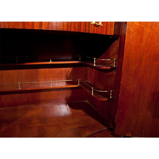 French Style Mahogany Bar Cabinet - Image 7 of 10