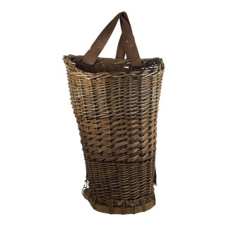 Flower Pack Basket With Straps