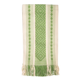 Mexican Boho Chic Woven Table Runner.