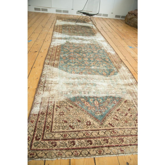 "Antique Malayer Rug Runner - 3'6"" x 13'3"" - Image 8 of 10"