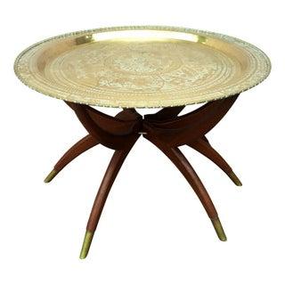 Vintage Moroccan Tray Table