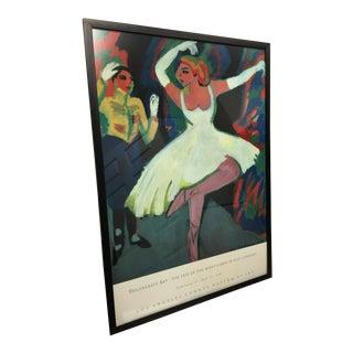 1909 Kirchner Nazi Degenerate Art Poster