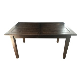 "Restoration Hardware 1900s Boulangerie Extension Dining Table 60""-78""l"