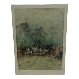 """Gantner """"Chalet d'Alpage"""" Limited Edition Print"""