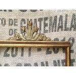 Image of Vintage Solid Brass Frame Topper