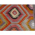 "Image of Vintage Handwoven Turkish Kilim Rug - 5'9"" x 8'"