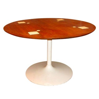 Danish Modern Tulip Dining Card Table