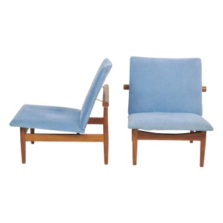 "Finn Juhl ""Japan"" Lounge Chairs- A Pair"