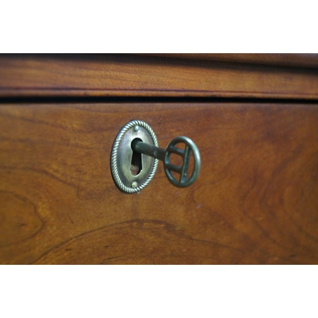 Nathan Margolis Chippendale Serpentine Chest - Image 8 of 10