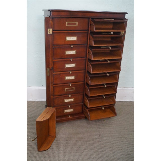 Grange Cherry Multi-Drawer File Cabinet - Image 7 of 10